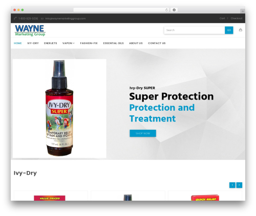Template WordPress Aven - waynemarketinggroup.com