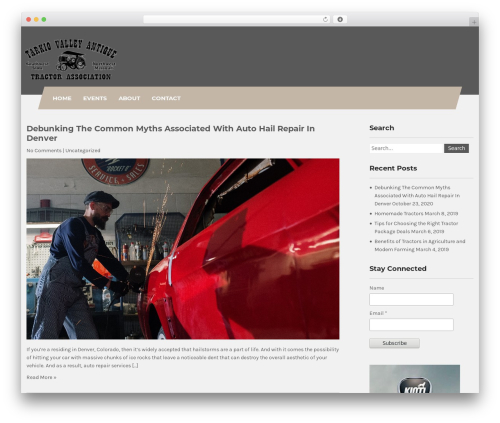 Theme WordPress Carpenter Lite - tarkiotractors.com