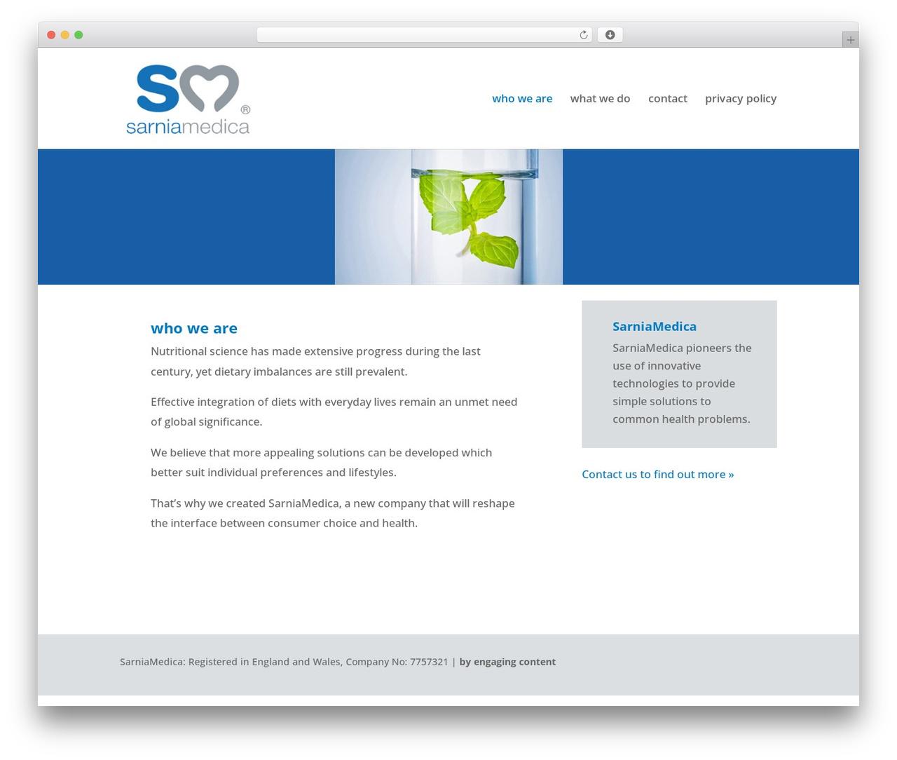 Theme WordPress Divi - sarniamedica.com