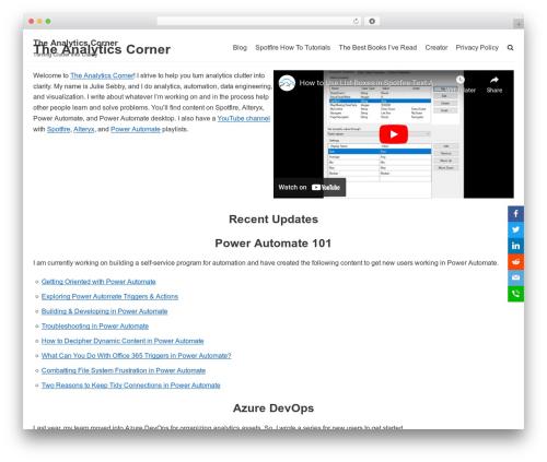 Theme WordPress neve - bigmountainanalytics.com