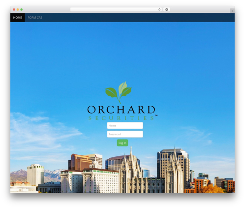Arcade Basic free WP theme - orchardsecurities.com