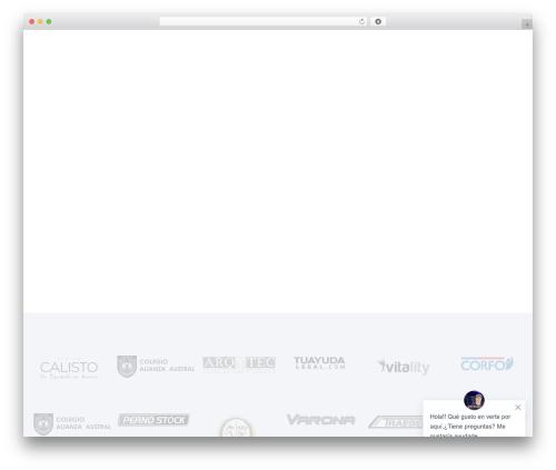 Ave WordPress theme - netpatagonia.cl