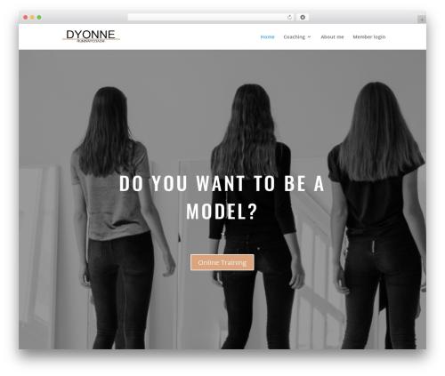 Best WordPress template Divi - runwaycoachnyc.com