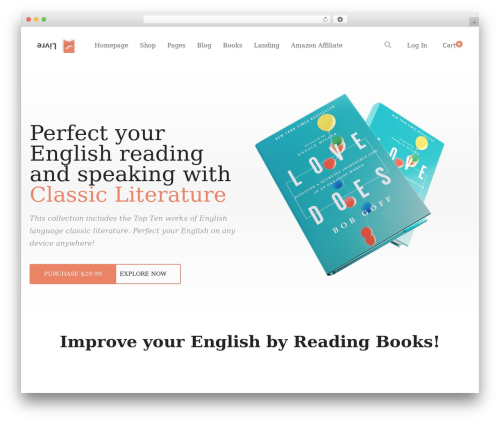 Livre WordPress theme - domapublishing.com