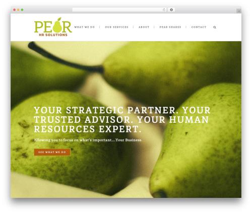 WordPress theme Stockholm - pearhrsolutions.com