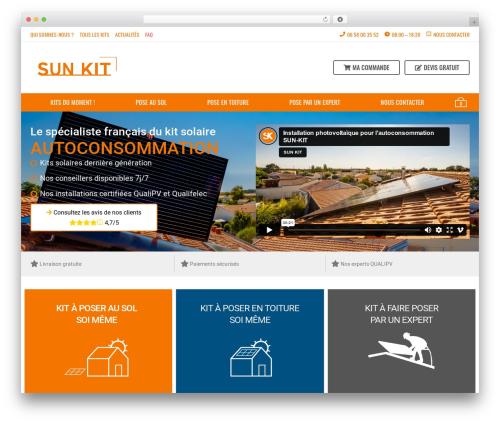 aardvark WordPress theme - sun-kit.com