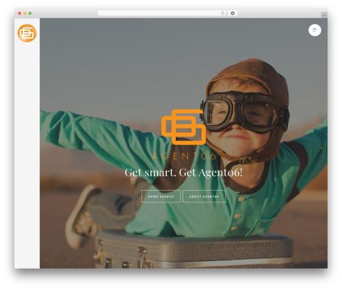 Ginger theme WordPress - agent06.com