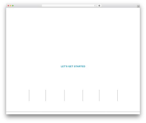 Pitch company WordPress theme - animink.com