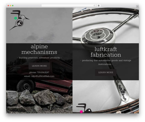 Revolution Child Theme WordPress theme - alpinemechanisms.com