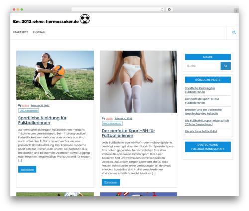 Online News WordPress free download - em-2012-ohne-tiermassaker.de