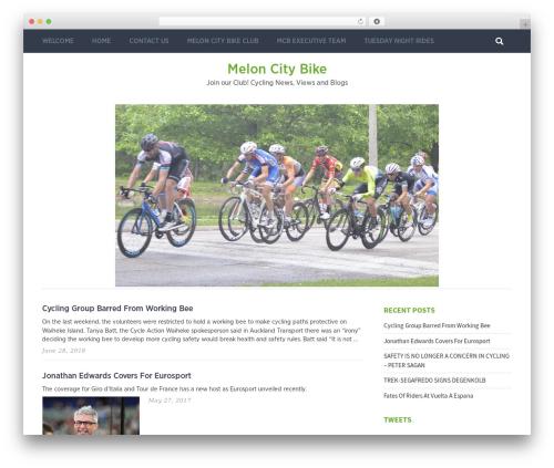 Pixeldom Lite WordPress blog template - meloncitybike.org