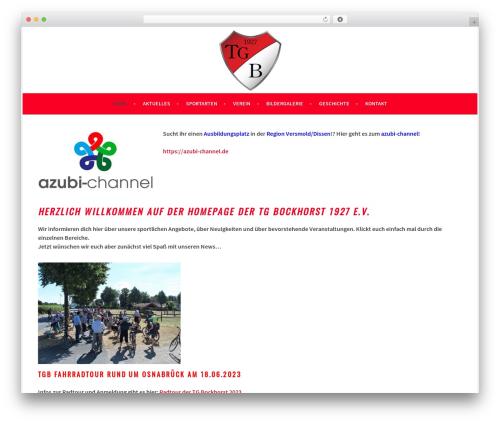 Sela theme WordPress free - tg-bockhorst.de