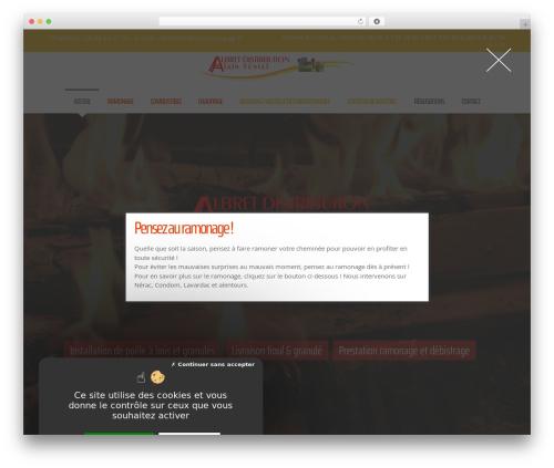 Template WordPress Movedo - albret-distribution.com