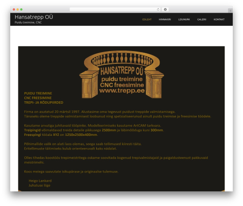 Theme WordPress Boston Business - trepp.ee