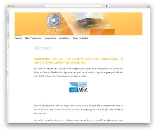 WordPress theme Apostrophe 2 - ab2m-expert-comptable.com