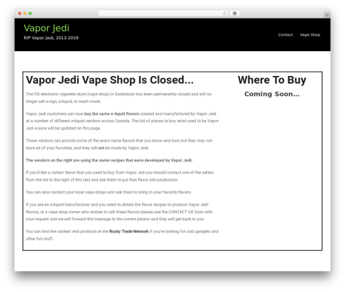 WordPress theme Lawworx - vaporjedi.com