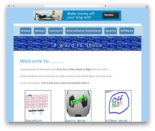 Escutcheon WordPress theme download - sshareasolutions.com