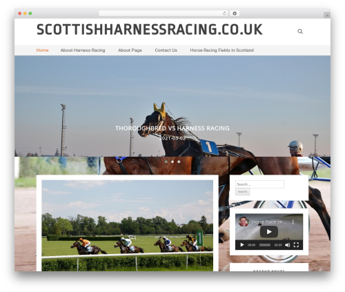 GBS Blog free website theme - scottishharnessracing.co.uk