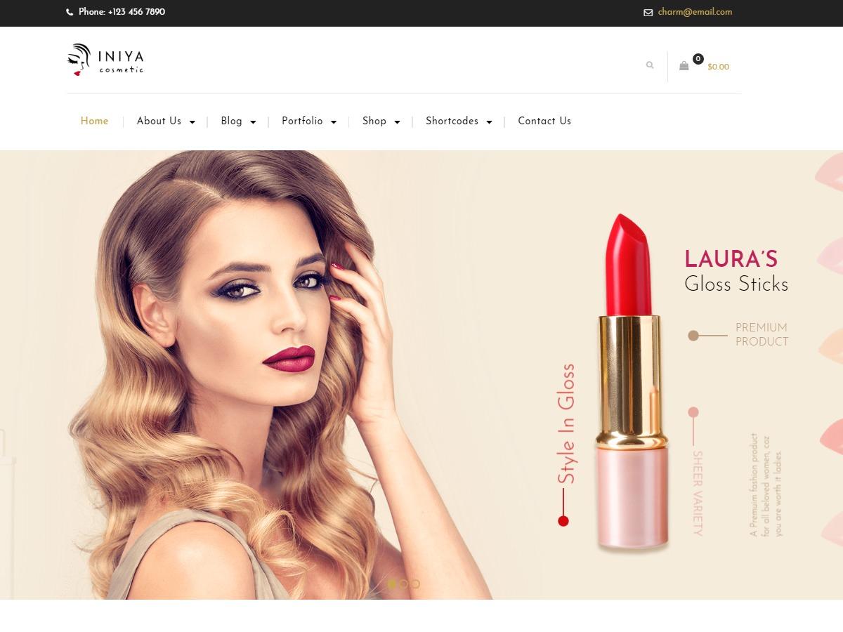 Iniya WordPress shopping theme