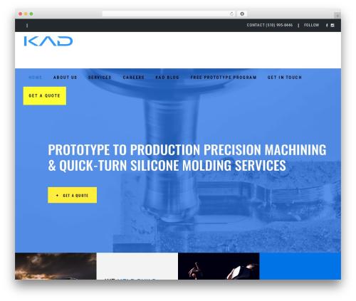 Template WordPress Pxlz - kadmodels.com