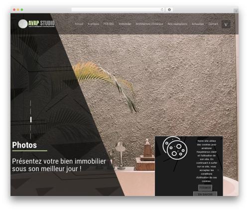 Aalto theme WordPress - avapstudio.com