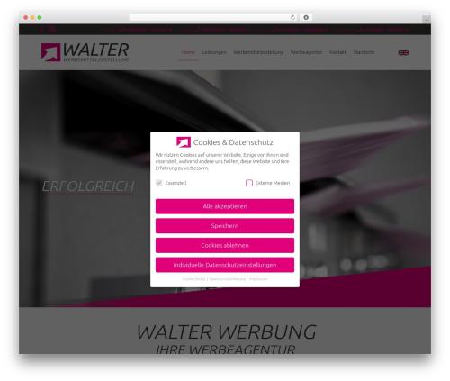 Beaver Builder Theme WordPress theme - walter-werbung.de