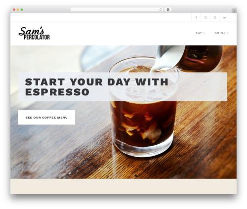 Belise Lite WordPress theme - samspercolator.com