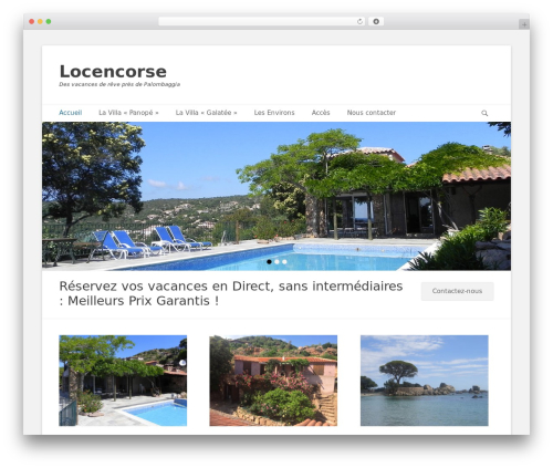 Catch Base Pro WordPress theme design - locencorse.com