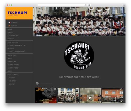 Free WordPress ConcertPress plugin - tschaupi.ch