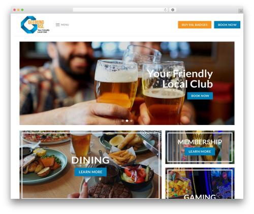 Flatsome WordPress shopping theme - geebungrsl.com