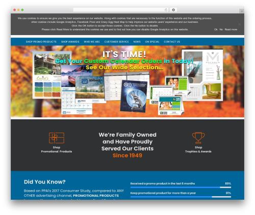 Folie WordPress theme - trophyawardco.com