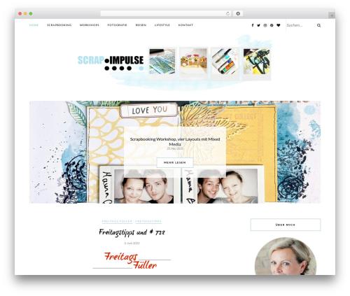 Rosemary WordPress theme - scrapimpulse.com