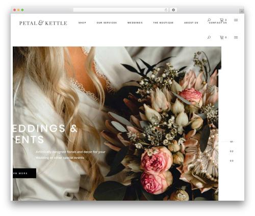 Tonda best WordPress template - petalandkettle.com