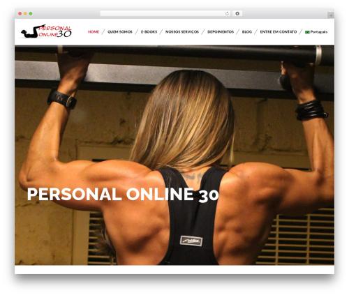 Veda premium WordPress theme - personalonline30.com