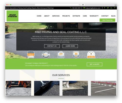 WordPress theme AWI - mdpaving.com