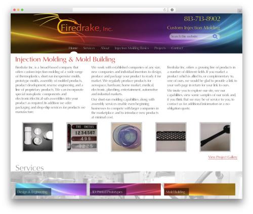 WordPress theme Genesis - firedrakeinc.com