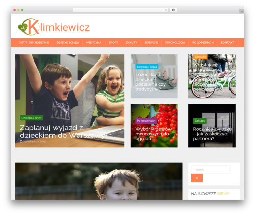 News Reader WordPress theme - klimkiewicz.net.pl