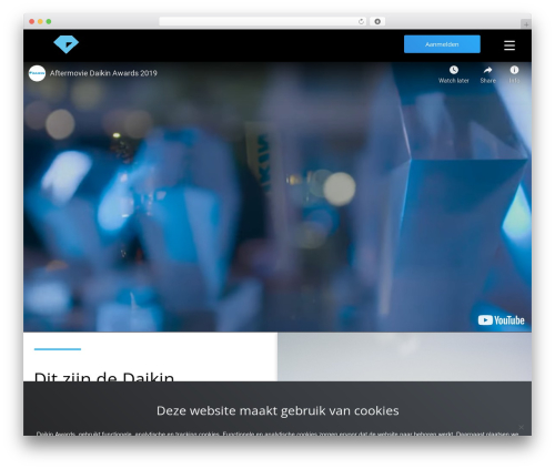 Oncourse WP theme - daikinaward.nl