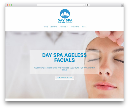 Template WordPress Divi - spa-af.com