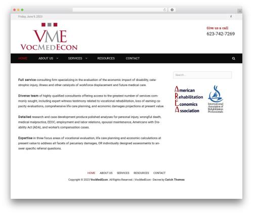 Theme WordPress Decree - vocmedecon.com