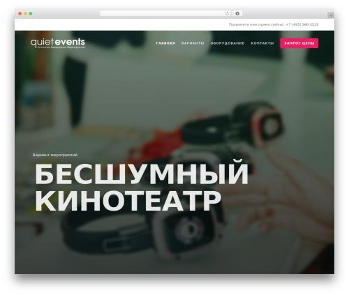 WordPress theme Movedo - quietevents.ru