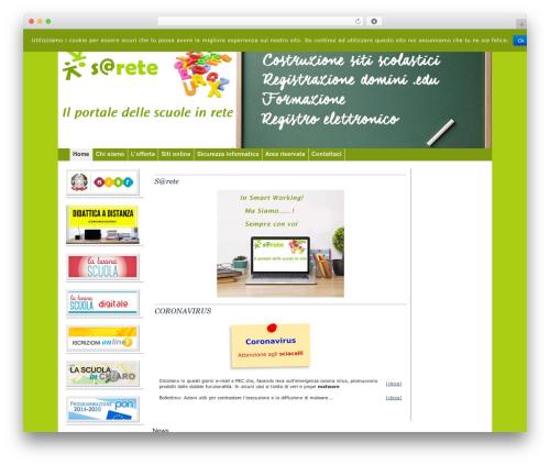 WordPress theme pasw2013 - sarete.net