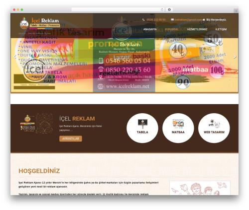 Coffee Pro template WordPress - icelreklam.com
