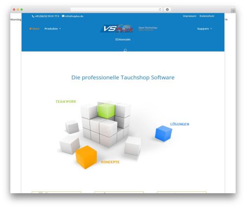 DI Basis – based on Divi 3.4 WordPress website template - vsplus.de