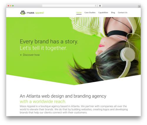 Divi theme WordPress - massappealagency.com