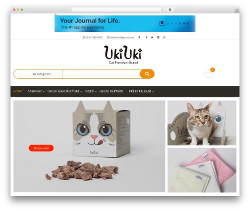 Multicommerce WordPress theme - ukiuki2013.com