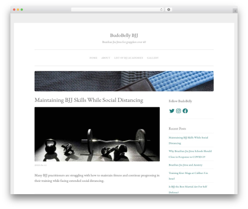Penscratch 2 WordPress blog template - budobelly.com
