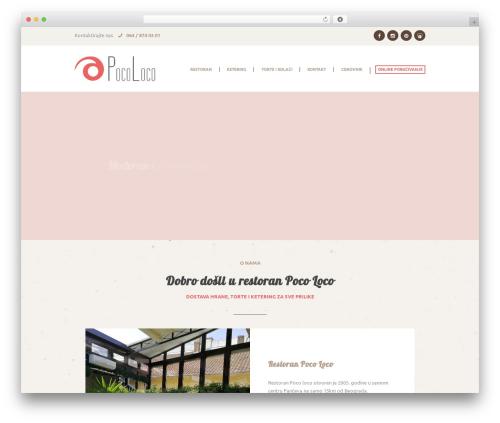 Royal Event WordPress website template - pocoloco.rs