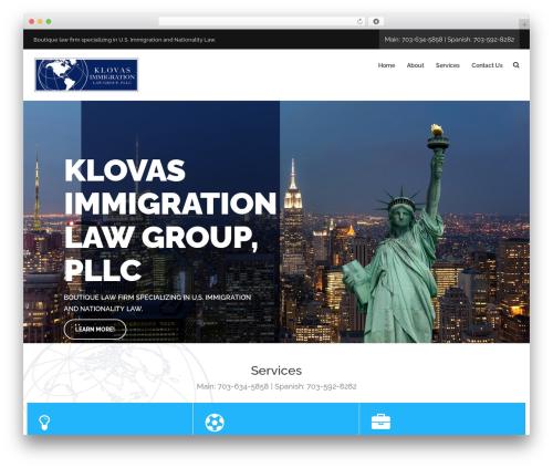 Seofication theme WordPress free - klovasimmigration.com