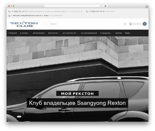 Theme WordPress Woostroid - myrexton.ru